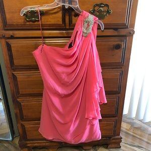 One Shoulder Dress ❤️